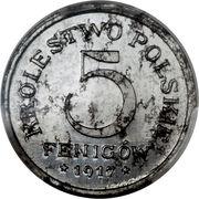 5 fenigow – revers