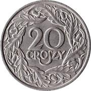 20 groszy – revers