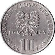 10 zlotych Boleslaw -  avers