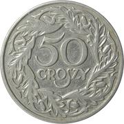 50 groszy – revers