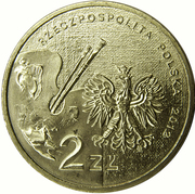 2 zlote Piotr Michalowski -  avers