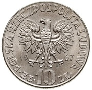10 zlotych Copernic -  avers
