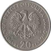 20 Zlotych Nowotko -  avers