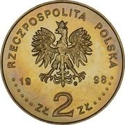 2 zlote Mickiewicz -  avers