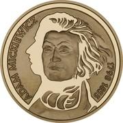 200 Złotych (Bicentenary of Adam Miczkiewicz's birth   ) -  revers