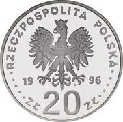 20 Złotych The 1000th anniversary of Gdańsk (997 - 1997) -  avers