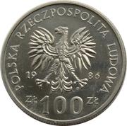 100 zlotych Wladyslaw I Lokietek -  avers