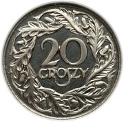 20 Groszy (Proof) – revers