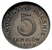5 Fenigów (CuNi) – revers
