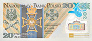 20 Złotych (The Centenary of the Formation of the Polish Legions) – revers