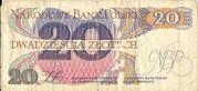 20 Zlotych – revers