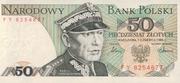 50 Zlotych – avers