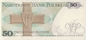 50 Zlotych – revers