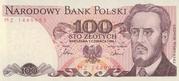 100 zlotych – avers
