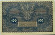 100 Marek -  revers