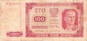 100 Zloty 1948 – avers