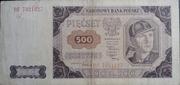500 zloty – avers