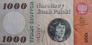 1000 zloty – avers