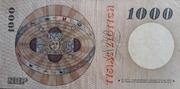 1000 zloty – revers
