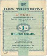 1 Dollar (Foreign Exchange Certificate) -  avers