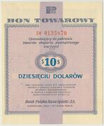 10 Dollars (Foreign Exchange Certificate) – avers