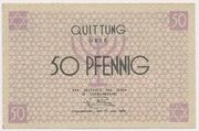 50 Pfennig (Getto) – avers