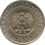 20 zlotych -  avers