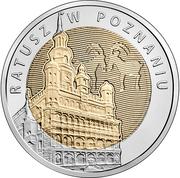 5 Złotych (Discover Poland – Poznań Town Hall) -  revers