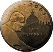 2 zlote Jean-Paul II -  revers