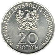20 zlotych année internationale des enfants -  avers