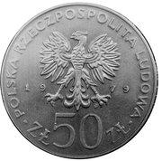 50 zlotych Mieszko -  avers