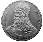 50 zlotych Mieszko -  revers