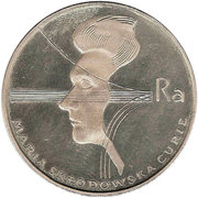 100 zlotych Marie Curie -  revers