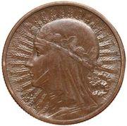 2 Złote (Queen Jadwiga; Trial Strike B) – revers
