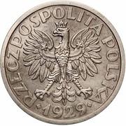 1 Złoty (Trial Strike Ni with próba) – avers