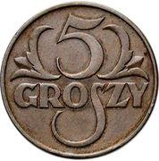 5 Groszy (Trial Strike) – revers