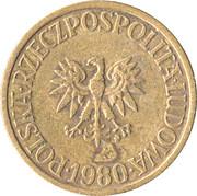 5 zlotych -  avers