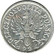 1 zloty – avers