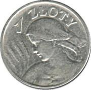 1 zloty – revers