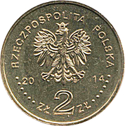 2 zlote Jan Karski -  avers