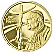 100 Złotych (John Paul II, the Pilgrim ) -  avers