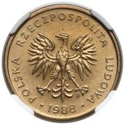 2 Złote (2nd Eagle Design) -  avers