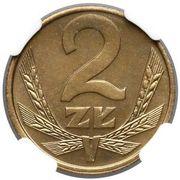 2 Złote (2nd Eagle Design) -  revers