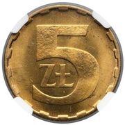 5 Złotych (2nd Eagle Design) -  revers
