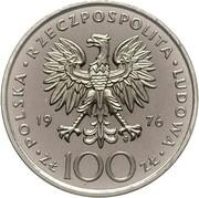100 Złotych (Kazimierz Pułaski; Trial Strike) -  avers