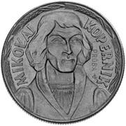 10 Złotych (Mikolaj Kopernik, small type; Trial Strike) -  avers