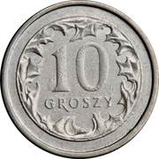 10 groszy -  revers