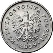 1 zloty -  avers