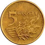 5 groszy -  revers