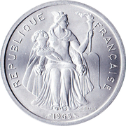 5 francs (sans IEOM) – avers